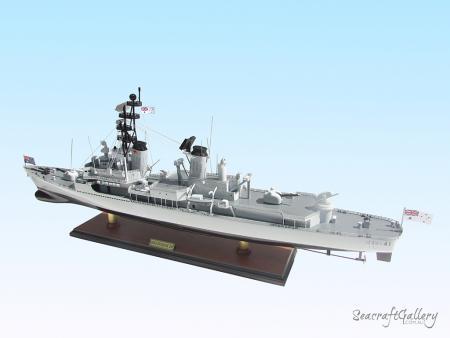 HMAS Brisbane D41 Destroyer Battleship Model for Sale | Seacraft Gallery
