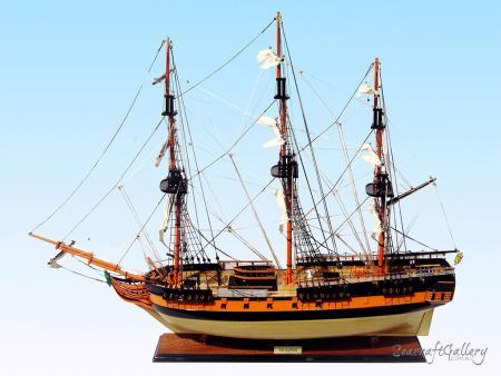 HMS Surprise ship model